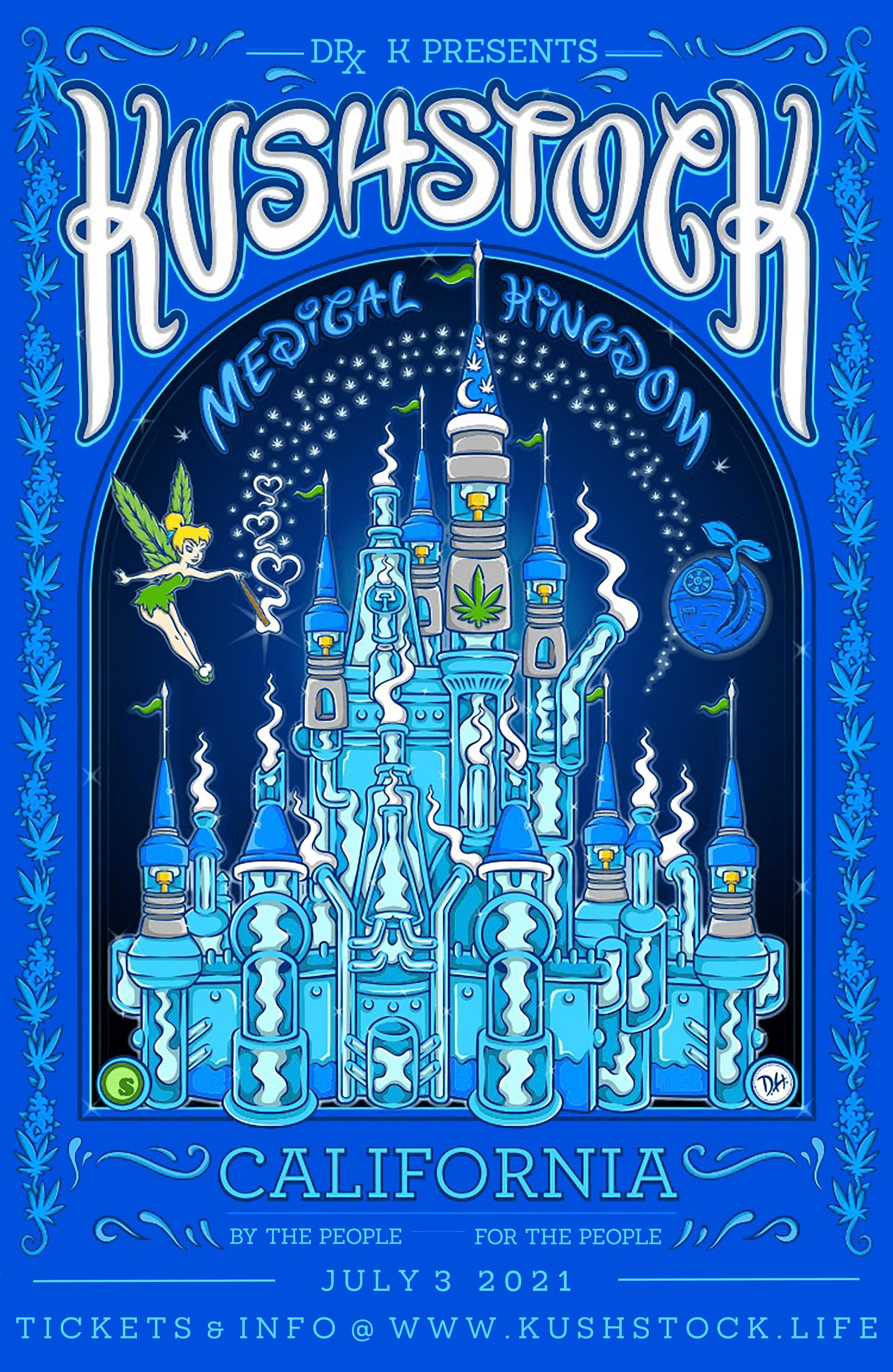 KushStock Festival 2021 Poster